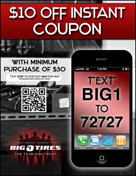 Big O Tires Mobile Marketing As It Should Be Easy And