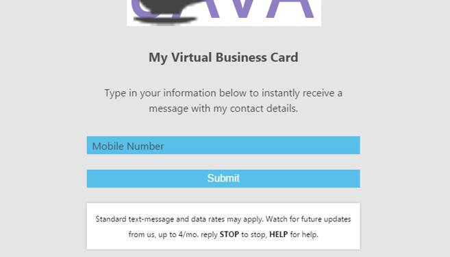 Virtual business cards connect you with your peers avidmobile screenshot of the virtual business card website colourmoves