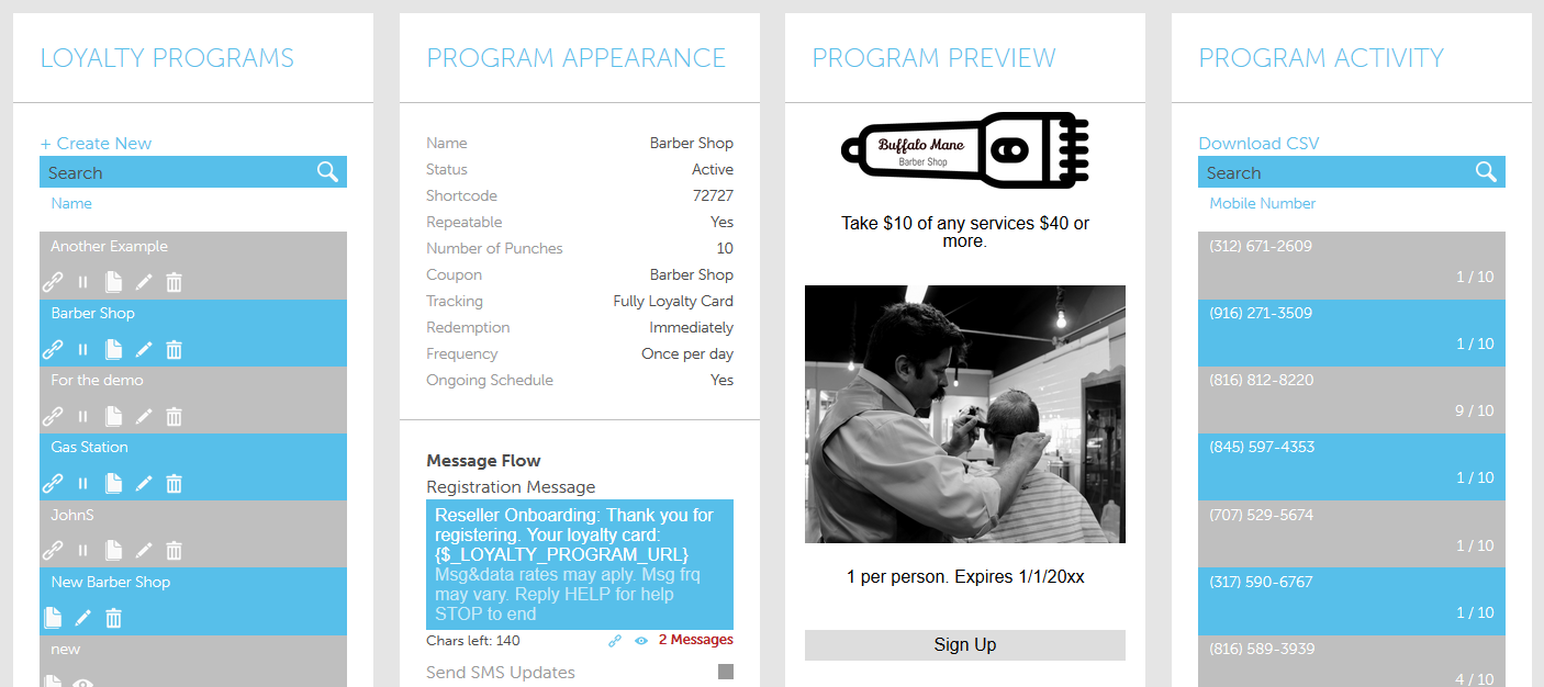 Building mobile loyalty programs with the AvidMobile Mobile Marketing application